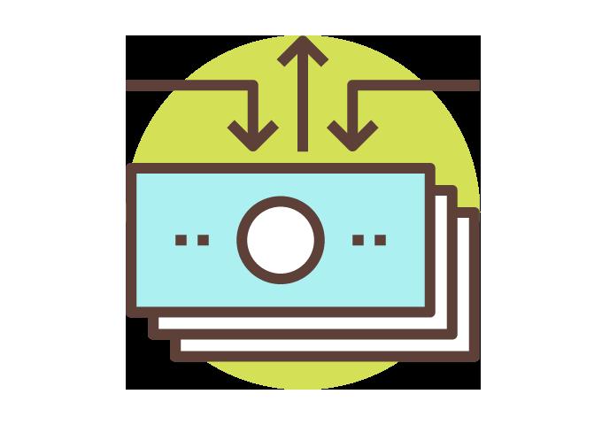 Icon einfache Finanzierung